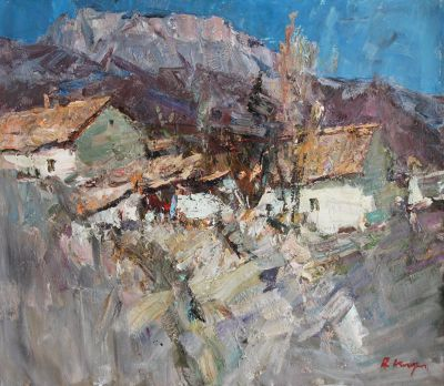Click Here for Selected Sold Works - Sunny House, Crimea