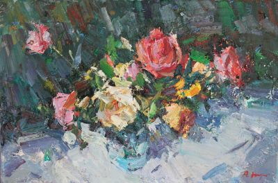 Click Here for Selected Sold Works - Roses