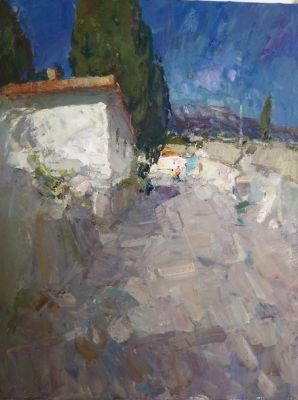 Click Here for Selected Sold Works - Road in Simiez