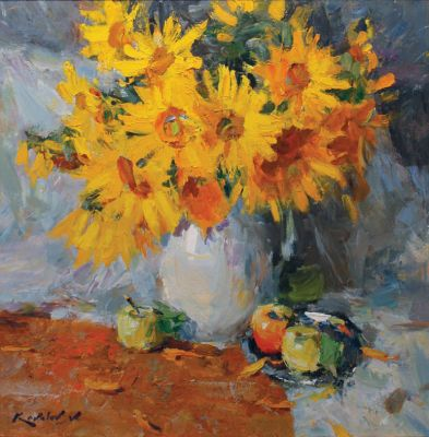 Click Here for Selected Sold Works - Sunflowers
