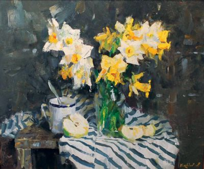Click Here for Selected Sold Works - Daffodils