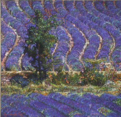 Click Here for Selected Sold Works - Lavender Field