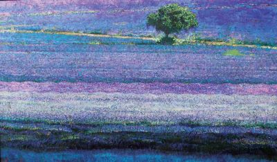Click Here for Selected Sold Works - Lavender Carpet