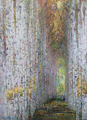 Click Here for Selected Sold Works - Forest Cathedral