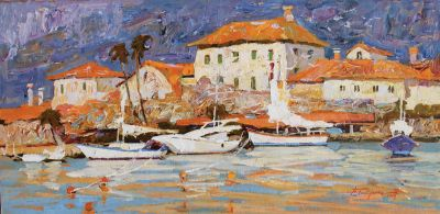 Click Here for Selected Sold Works - Yachts in the Bay