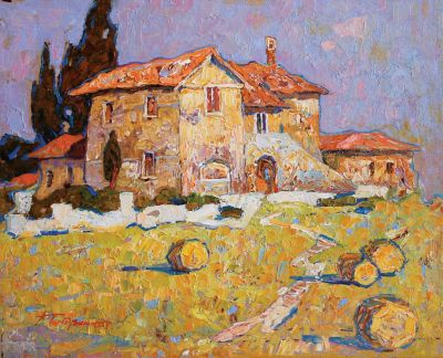 Click Here for Selected Sold Works - Tuscan Home