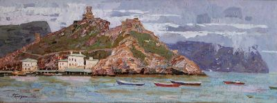 Click Here for Selected Sold Works - Balaklava Bay