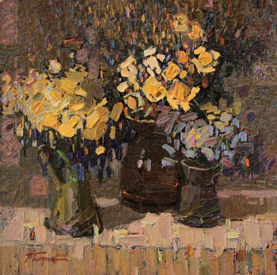 Click Here for Selected Sold Works - Still Life with Flowers