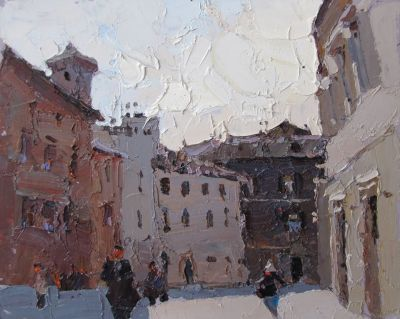 Click here to see selected sold works - Italian Midday