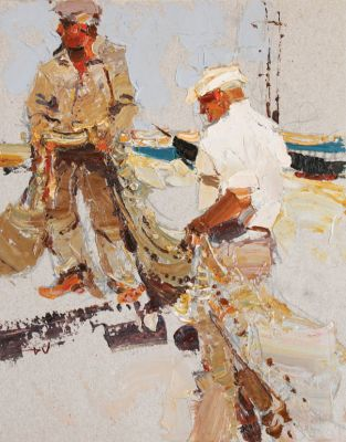 Click here to see selected sold works - Fishermens