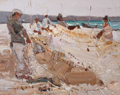 Click here to see selected sold works - Fishermen