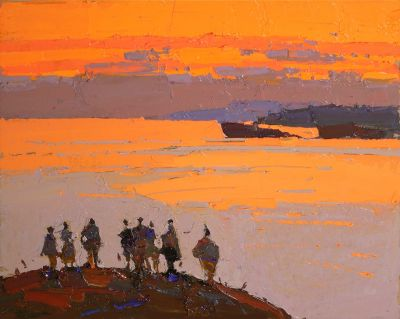 Click here to see selected sold works - Beautiful Evening