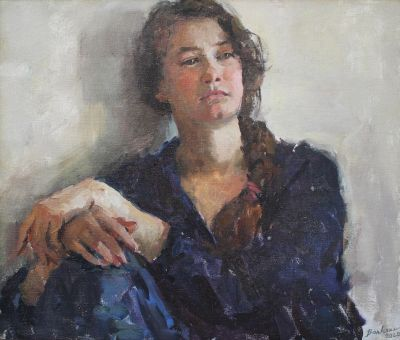 Olga Volkova - Portrait of a Young Woman