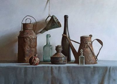 Andrew Zaharenko - Old Objects